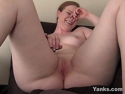 Small Breasted Claire Toying Her Pussy